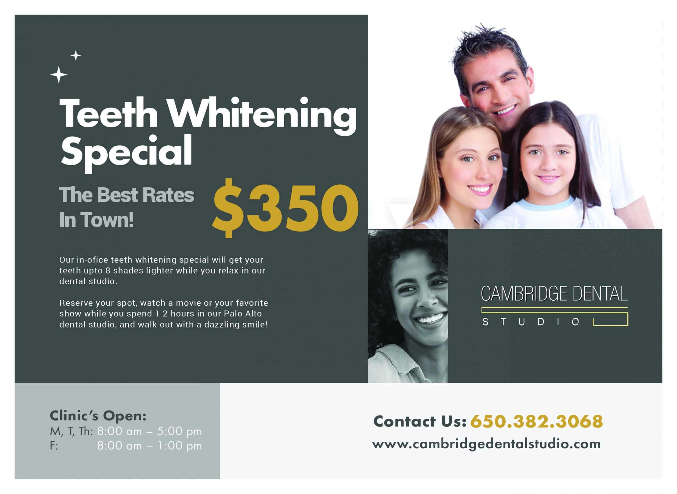 best teeth whitening specials in palo alto